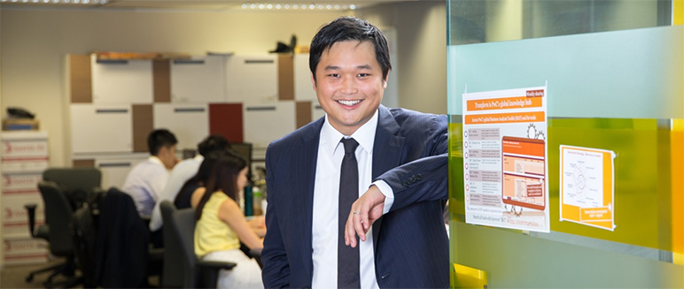 Rocco Li, Human Resources and Development Manager, PwC China